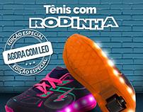 Tênis com Rodinha - Clovis Calçados.