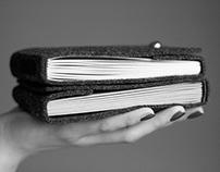 handmade felt notebooks