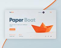 PipBoat UI concept.