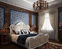Голубая спальня - Blue Bedroom