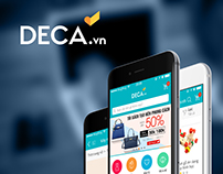 DECA.vn - Ecommerce Native App Design