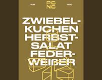PICNIC – Poster design, naming, logo, restaurant
