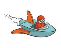 WingBoat logo