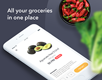 Merqueo UI: Grocery Shopping App