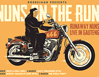 Nun's On The Run Poster