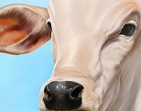 Realistic Cow