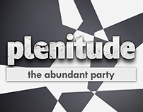 Plenitude Abstract Party Flyer Set