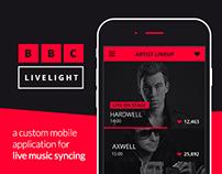 BBC Live Light - A Mobile Crowd Experiment