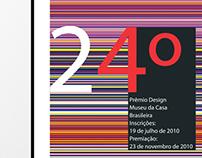 cartaz para prêmio de design