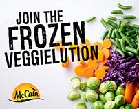 McCain Frozen Vegetables Campaign