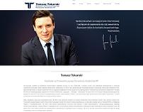 tomasztokarski.eu Logo & Web design