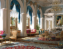 classic palace la blue chateau royal des princesses
