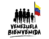 Logo design for the Venezuela Welcome campaign