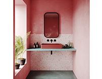 Bathroom In Pink | CGI