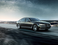 BMW 7ER LI BY MARC TRAUTMANN IN THE DESERT OF CHINA
