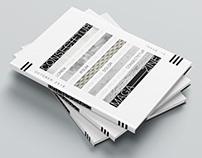 Hard cover book / magazine