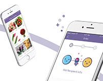 Violet | App & illustration