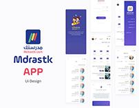 Mdrastk App Design