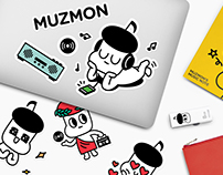 MUZMON Character Design / Character, Illustration