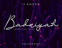 Badriyah Script Font | FREE