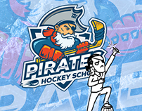 Hockey school logo (the process)