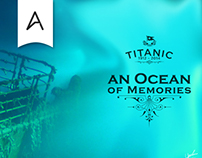 An Ocean of Memories - Titanic Homenage Type Art