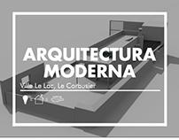 Arq. Moderna: Ville Le Lac, Le Corbusier / ARQU-2203