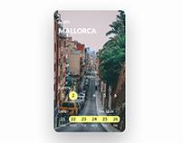 Booking app concept