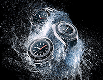Squale Watches water explosion ADV