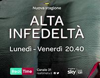 Alta infedeltà - teaser campaign
