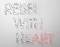 REBEL WITH HEa≠÷rt