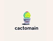 Cactomain Logo