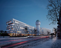Wasserturm Karlsruhe - Competion Visualization