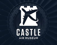 Castle Air Museum Branding, Identity Redesign