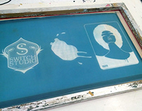 Screenprinting Designs at Leicester Print Workshop
