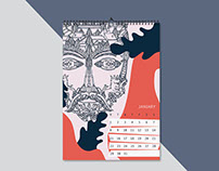 Design calendar 2018