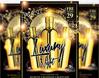 Luxury Night - Premium Flyer Template + Facebook Cover
