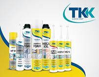 TKK sealants | package redesign