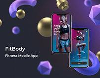 Fitness Mobile App UX/UI