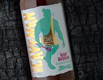 Caveman BBQ Sauce Packaging
