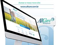 Newsletter - Novo Site AllCare