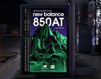 NEW BALANCE 850AT POSTER
