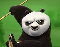 Kung Fu Panda Franchise Site