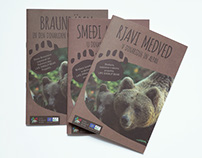 "The brochure ""Brown bear in Dinarides and Alps"""
