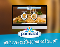 Parmalat - Receitas com natas