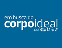 Branding for EM BUSCA DO CORPO IDEAL blog (2014)