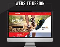 Ajanta Footwear Website Design