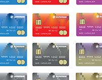 Концепция оформления банковских карт ГАЗПРОМБАНКа