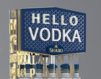 Hello Vodka Shabo stand