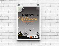 Halloween Poster Mockup Ep 2